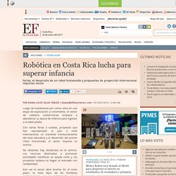 Robótica en Costa Rica lucha para superar infancia