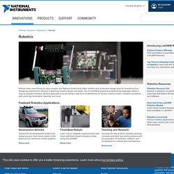 Robotics - National Instruments