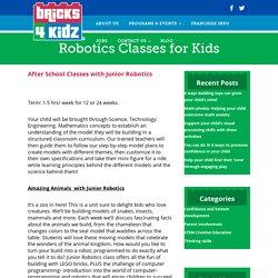 Robotics - Best Science Activities & Lego Robotics Class for Kids in Singapore