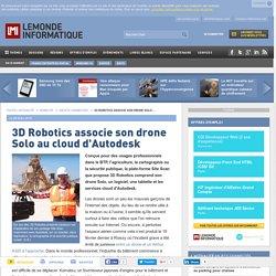 3D Robotics associe son drone Solo au cloud d'Autodesk