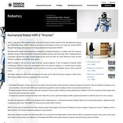 "Robotics - Humanoid Robot HRP-2 ""Promet"""