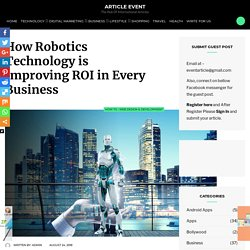 What kind of Robotics Technologies are suitable for ROI System?