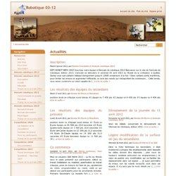 Compétition Robot-TIC RÉCIT 03-12