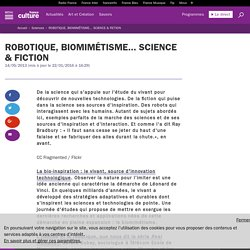 ROBOTIQUE, BIOMIMÉTISME... SCIENCE & FICTION
