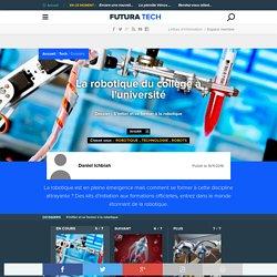 La robotique du collège à l'université