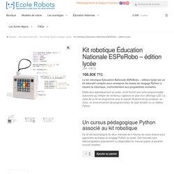 Kit robotique Éducation nationale - coder en Python au lycée