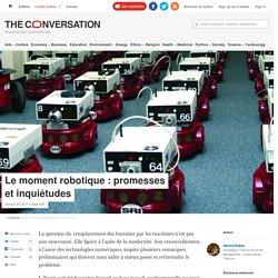 Le moment robotique: promesses etinquiétudes