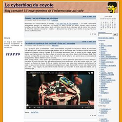 Robotique - Le cyberblog du coyote