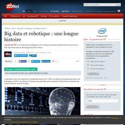 Big data et robotique : une longue histoire