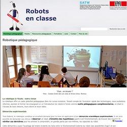 Robotique pédagogique - Robots en classe