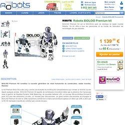 Kit robotique Robotis BIOLOID Premium