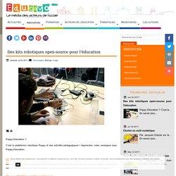 Des kits robotiques open-source pour l'éducation