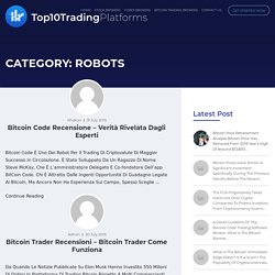 robots Archives - Top10TradingPlatforms