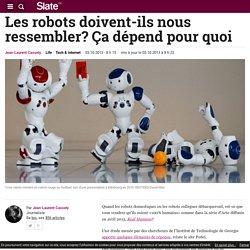 Les robots doivent-ils nous ressembler? Ça dépend pour quoi