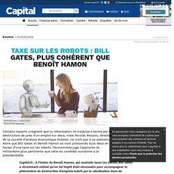 Taxe sur les robots : Bill Gates, plus cohérent que Benoît Hamon
