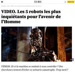 VIDEO. Les 5 robots les plus inquiétants pour l'avenir de l'Homme - 30 novembre 2012