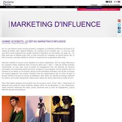 Homme vs robots: le défi du marketing d'influence