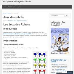 Jeux des robots