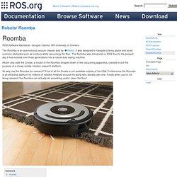 Robots/Roomba