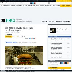 Les robots savent aussi faire des hamburgers