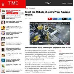 Meet the Robots Shipping Your Amazon Orders
