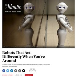 Robots That Know What You're About to Do