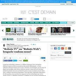 "Risque de ""Robotdépendance"" !"