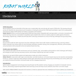 ROBOTWORLD - STEM EDUCATION