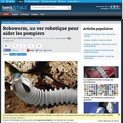 Roboworm, un ver robotique pour aider les pompiers