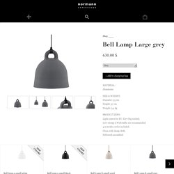 A robust and minimalistic ceiling lamp in matte grey