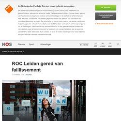 ROC Leiden gered van faillissement