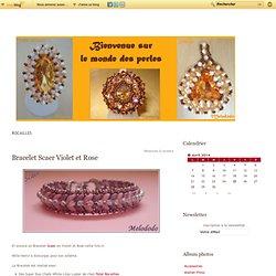 """Rocailles - Bracelet Scaer… - Bracelet Scaer… - Bracelet Résille… - Entre Deux Mers… - Bracelet Lesely… - Bracelet India… - Collier Spirale""""… - Bracelet Résille… - Bracelet Sogo… - Bracelet India… - Le Monde des perles"""