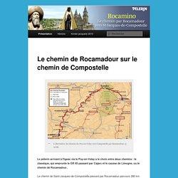 Le chemin de Rocamadour sur le chemin de Compostelle