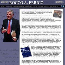 Rocco A. Errico - Biography