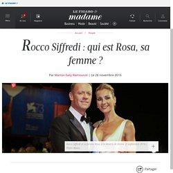 Rocco Siffredi : qui est Rosa, sa femme?