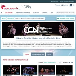 CCN de La Rochelle - Cie Accrorap, direction Kader Attou - Vidéos de danse