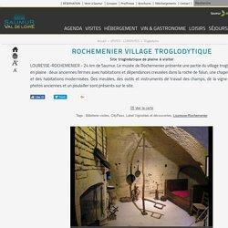 Rochemenier Village Troglodytique à Rochemenier