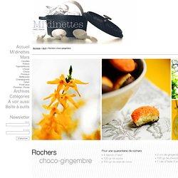 Rochers choco-gingembre