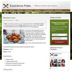 Rochers coco paléo