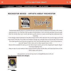 Rochester Boxed - Artists About Rochester – Little Button Craft