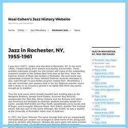 Jazz in Rochester, NY, 1955-1961 – Noal Cohen's Jazz History Website