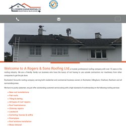Roof Repairs Rochester