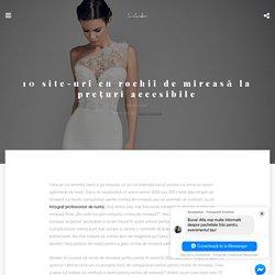 10 site-uri cu rochii de mireasă la prețuri accesibile