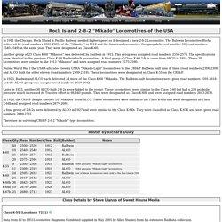 "Rock Island 2-8-2 ""Mikado"" Locomotives of the USA"
