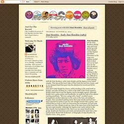 Rock On Vinyl: Jimi Hendrix