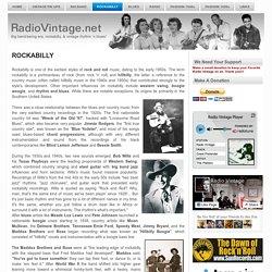 ROCKABILLY ~ Radio Vintage - Rock 'n' Roll
