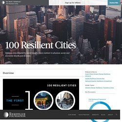 100 Resilient Cities – Rockefeller Foundation