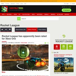 Rocket League has apparently been rated for Xbox One