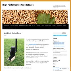 High Performance Woodstoves