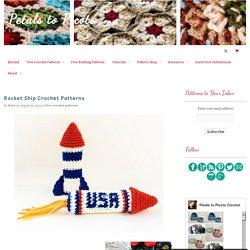 Rocket Ship Crochet Patterns